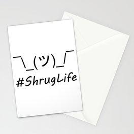 #ShrugLife Stationery Cards