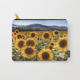 The Sunflower Summer Carry-All Pouch