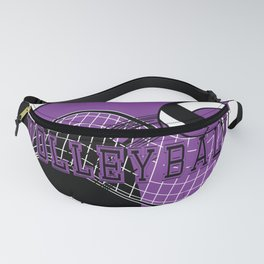 Volleyball Sport Game - Net - Purple Fanny Pack