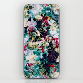 RPE ABSTRACT FLORAL -IV iPhone Skin