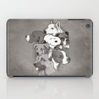 snoopy iPad Cases featuring Dogs by Ronan Lynam