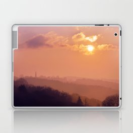 Sunset Over the Woods Laptop & iPad Skin