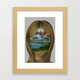 Dualism of Industrial Riches Framed Art Print
