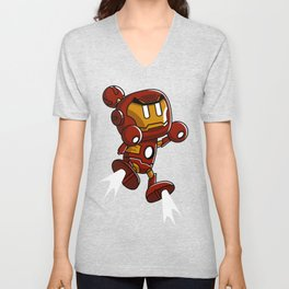 Super Iron Bomb Man Unisex V-Neck