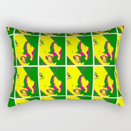 Girls Of MySpace (Miss Black Velvets) Rectangular Pillow