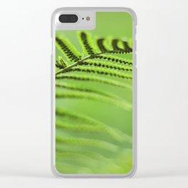 Sporangia Clear iPhone Case