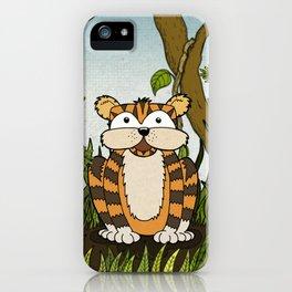 Erin's Jungle Tiger iPhone Case
