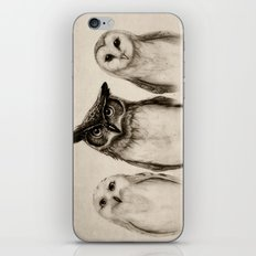The Owl's 3 iPhone & iPod Skin