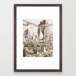The Tilhilnilian Highway Framed Art Print