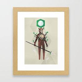 The Forest Guardian Framed Art Print