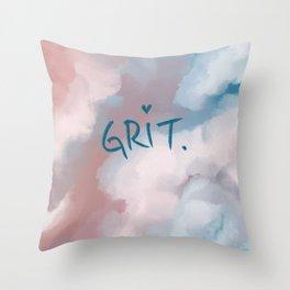 Grit Throw Pillow