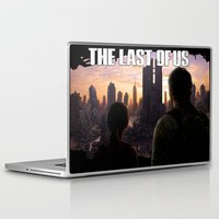 last of us Laptop & iPad Skins featuring The Last of Us by Icemanire
