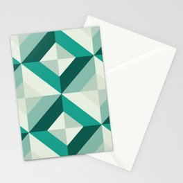 Emerald (Geometric pattern series) Stationery Cards