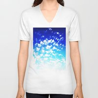 martell V-neck T-shirts featuring Under the Same Sky by G Martell