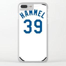 Jason Hammel Jersey Clear iPhone Case