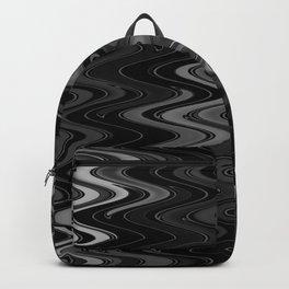 WAVY #2 (Black & Grays) Backpack