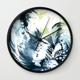 Rain Dance Wall Clock