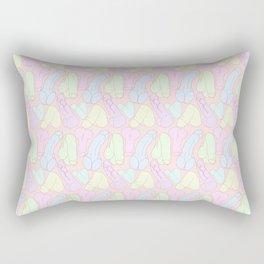 Pastel Penises Rectangular Pillow