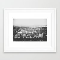 edinburgh Framed Art Prints featuring Edinburgh by James Docherty