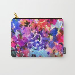 Jelly Bean Wildflowers Carry-All Pouch