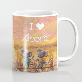 I love Alberta Coffee Mug