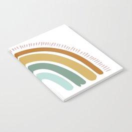 Boho Rainbow Notebook
