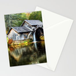 Mabry Mill Autumn Stationery Cards