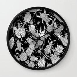 Coleoptera Wall Clock