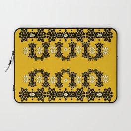 Ornate circulate is festive in  flower decorative Laptop Sleeve