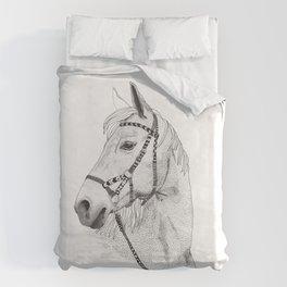 Inka horse Duvet Cover