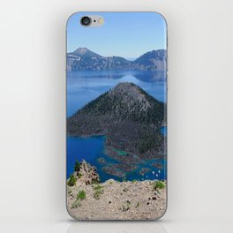 Crater Lake Volcanic Crater Oregon USA iPhone Skin