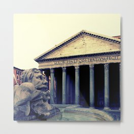 Pantheon in Rome Metal Print