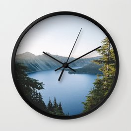 The Crater Wall Clock