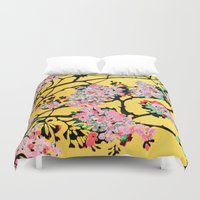 blossom Duvet Covers featuring Blossom by marlene holdsworth