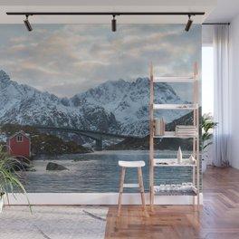 Lofoten winter Wall Mural