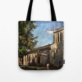 St Nicholas Church Sulham Tote Bag