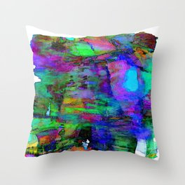 Glowing Poetry Throw Pillow