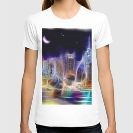 Starry Night New York City T-shirt