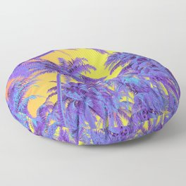Polychrome Jungle Floor Pillow