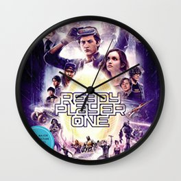 Steven Spielberg's 'Ready Player One Wall Clock