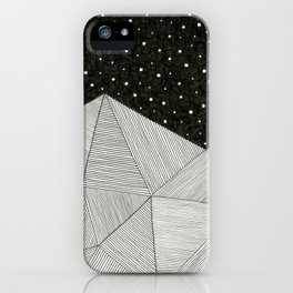 Stripe Mountains iPhone Case