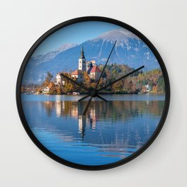 Autumn 08 Wall Clock