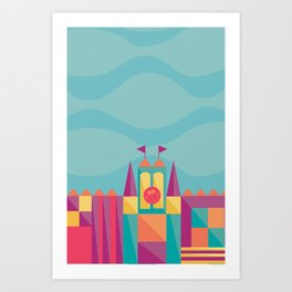 It's a small world after all | Disney inspired Art Print