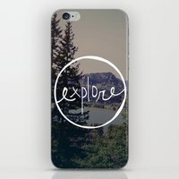 oregon iPhone & iPod Skins featuring Explore Oregon by Leah Flores