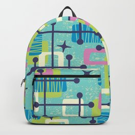 Mid Century Modern Abstract Pattern 835 Backpack