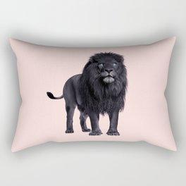 BLACK LION Rectangular Pillow
