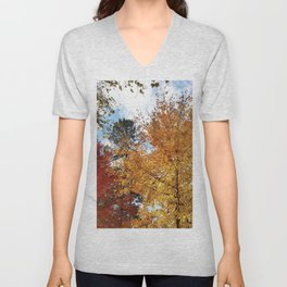 Sugar Maples in all their glory Unisex V-Neck