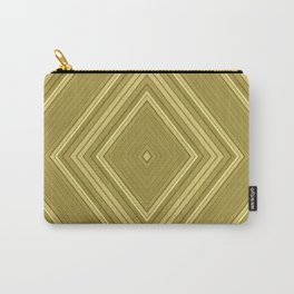 Olive rhombic ornament Carry-All Pouch