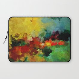Colorful Landscape Abstract Art Print Laptop Sleeve