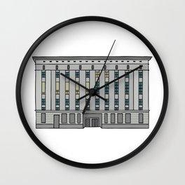 Berghain. Techno Club in Berlin Wall Clock